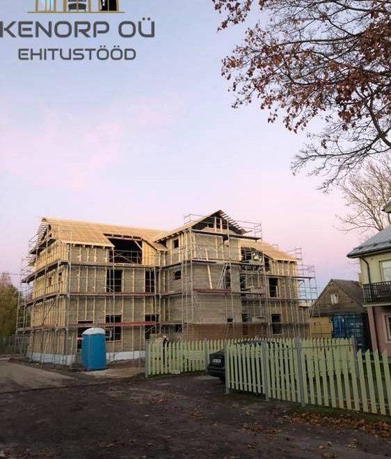 Katuse-ehitus