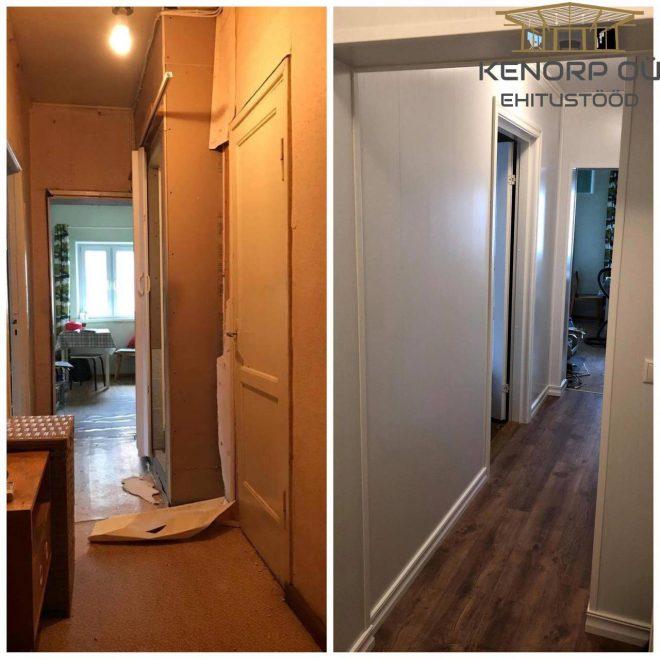 Koridori ja vannitoa renoveerimine2