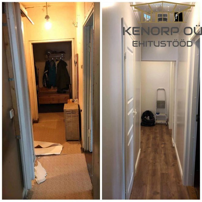 Koridori ja vannitoa renoveerimine3