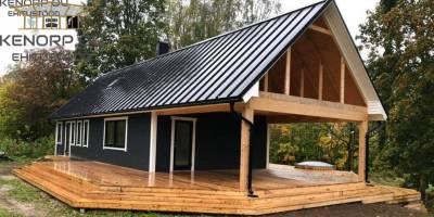 saunamaja ehitus